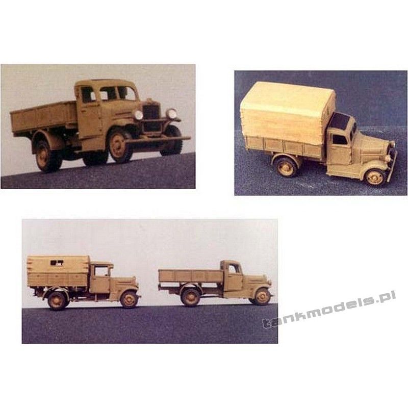 Polish Fiat 621L/III Mobile workshop - Mars 7203