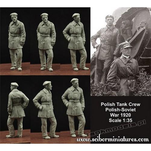 Polski czołgista FT-17 (1919-1920) - Scibor Miniatures 350010