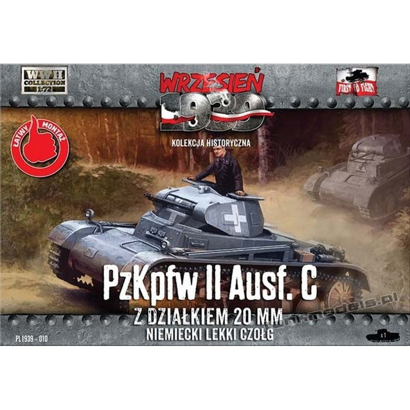 Panzer II Ausf. C - First To Fight PL1939-010