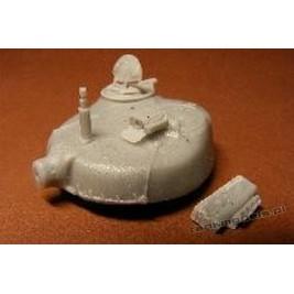 M-84 Yogoslav tank (conv. for Revell) - Modell Trans 72172